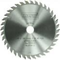 Pilový kotouč, 160 x 2.5 x 20 mm, 36 zubů WZ, SHARK HW Narex, 614112