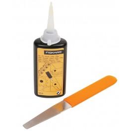 Souprava na údržbu zahradních nůžek, Fiskars 110990, F110990