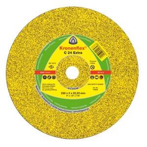 Řezný kotouč na kámen, 230 x 3.0 x 22,23 mm, vydutý, C24 Extra, Klingspor, RK230K
