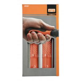 Sada pilníku a rašple, 3 dílná, 200 mm, Bahco, 6-470-08-2-2