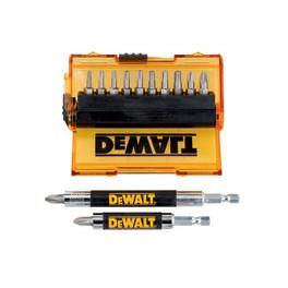 Sada bitů 14 dílná s magnetickým nástavcem, DeWalt, DT71570