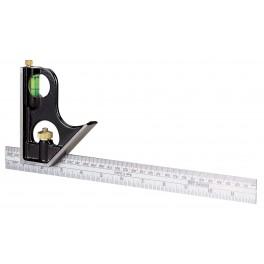Multifunkční úhelník, 300 mm, STANLEY, 0-46-151