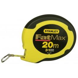 Pásmo ocelové, 20 m x 10 mm, FatMax®, Stanley, 0-34-133