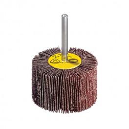 Lamelový kotouč na stopce, 40x15  mm, stopka 6 mm, zrno 120, KM613, Klingspor, BK4015P120