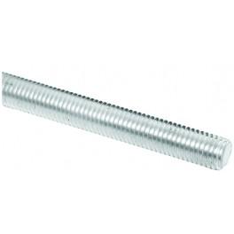 Závitová tyč, M  6, 1000 mm, zinek bílý, 4.8, DIN 975, ZTM6