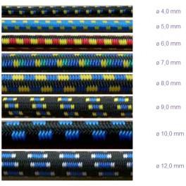 Gumové lano, 8 mm, GUMLAN8