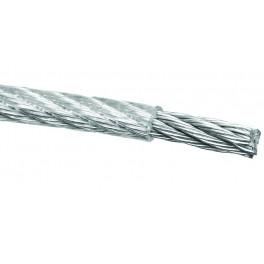 Ocelové lanko v PVC obalu, 5 / 6 mm, návin 50 m, LANKOP5-50