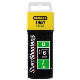 Spony pro vysoké zatížení HD, 6 mm, 1000 ks, 1-TRA704T