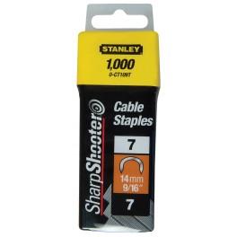 Spony na kabely, 12 mm, 1000 ks, 1-CT108T