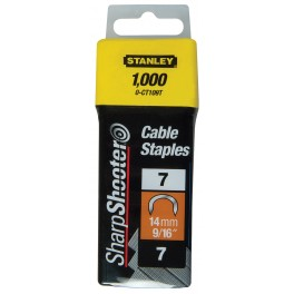 Spony na kabely, 10 mm, 1000 ks, 1-CT106T