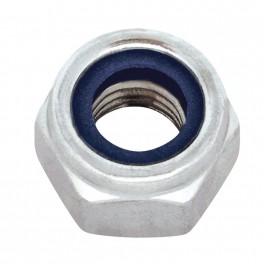 Matice pojistná, DIN 985, zinek bílý, M3, MPO3