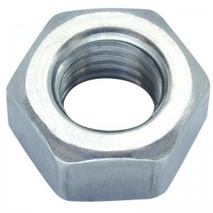 Matice přesná, DIN 934, zinek bílý, 4 mm, MPR4