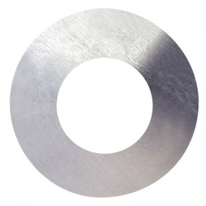 Podložka plochá, DIN 125A, zinek bílý, 4 mm, PPL4