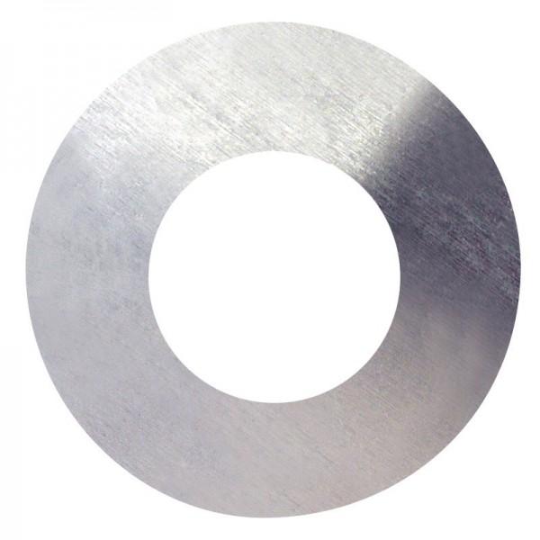 Podložka plochá, DIN 125A, zinek bílý, 6 mm, PPL6