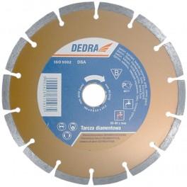 Diamantový kotouč segmentový, 125 x 22,2 mm, Dedra, H1107  125