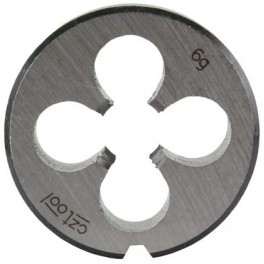 Závitová kruhová čelist, DIN EN 22 568, metrický závit, M 4, lícování 6G, NO, OM4