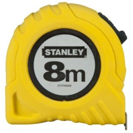 Svinovací metr, 8 m x 25 mm, Stanley, 1-30-457