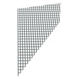 Síť proti hmyzu, sklovlákno, 0.5 m x 30 m, šedá, 41050