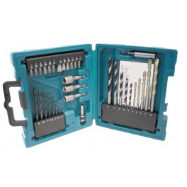 Sada příslušenství pro vrtání a šroubování, 34 - dílná, Makita, D-36980