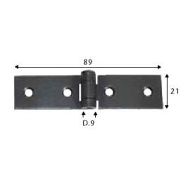 Pant černý, 21 x 89 mm, SP1459