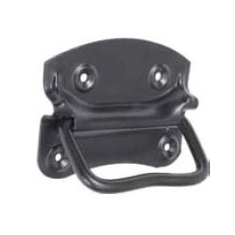 Boční rukojeť pro bednu - madlo, 90 mm, černé, SP704