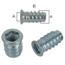 Nábytkářský spojovací šroub, M6 x 20 mm, SP1711