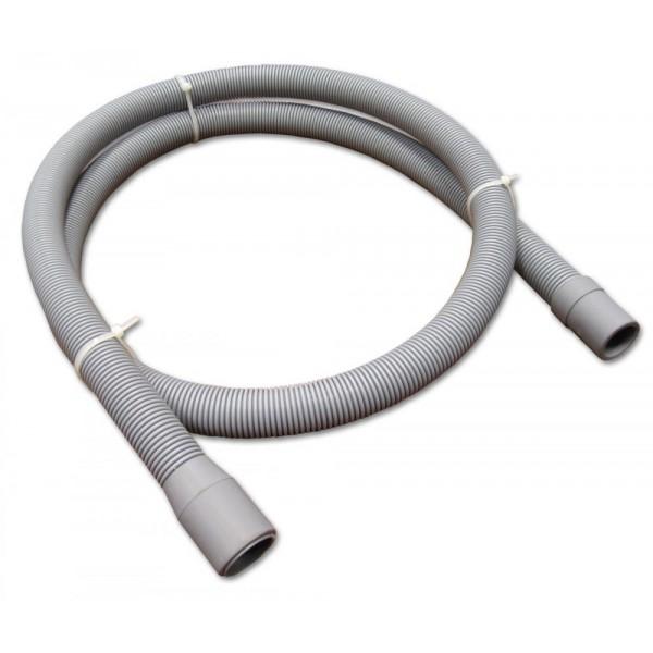 Pračková hadice vypouštěcí, rovná - rovná, 250 cm, PHVRR250