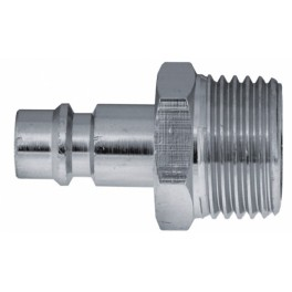 """Vsuvka k rychlospojce, vnější závit 1/4"""", spojka 1/4"""", klíč 14 mm, max. 10 bar, PanSam, A535313"""