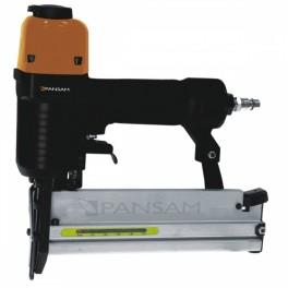 Pneumatická sponkovačka / hřebíkovačka, pro spony 16 - 40 mm, hřebíky 15 - 50 mm, PanSam, A533152