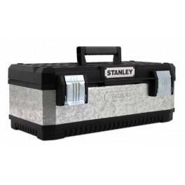 "Box na nářadí kovoplastový, galvanizovaný, 23"", 584 x 293 x 222 mm, Stanley, 1-95-619"