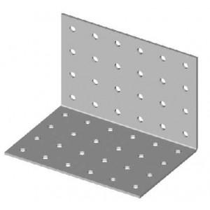 Úhelník s otvory, 100 x100 / 100 mm, 2 mm, UH100/100/100