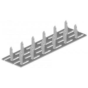 Styčníková deska, 54 x 90 x 1 mm, SD54/90