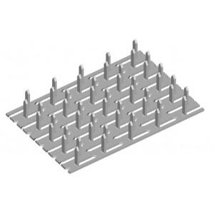 Styčníková deska, 105 x 210 x 1.5 mm, SD105/210