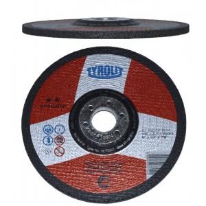 Brusný kotouč na ocel, Standart **, 125 x 6 x 22,23 mm, Tyrolit, BO125X