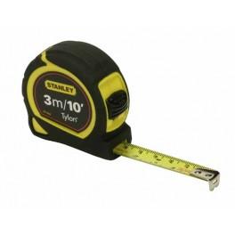 Svinovací metr, 3 m / 10 ft x 13 mm, metrická/palcová stupnice, na kartě, Tylon™, Stanley, 0-30-686