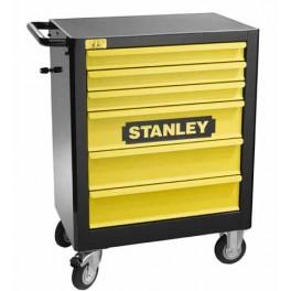 Pojízdná montážní skříň, 6 zásuvek, prázdná, 440 x 900 x 675 mm, Stanley, 1-94-737