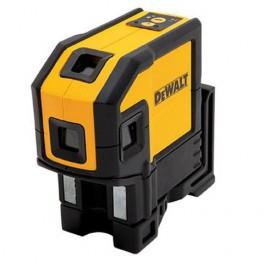 Laser s 5 bodovými a jedním čárovým paprskem, Dewalt, DW0851
