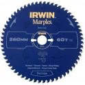 Pilový kotouč s SK plátky na dřevo, 254x2,5x30 mm, 48 zubů, pro pokosové pily, HPP, Marples Irwin, IM254/48