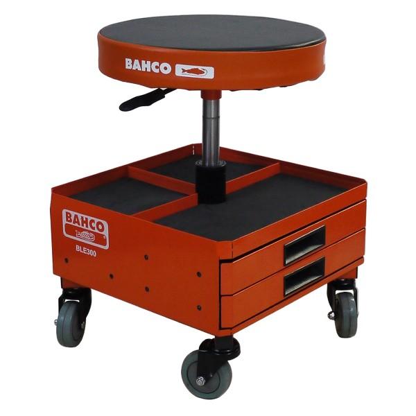 Mobilní stolička se zásuvkami, 550 x 380 x 380 mm, Bahco, BLE300