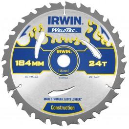 Pilový kotouč 160 x 20 mm, 24 zubů, MPP, pro ruční pily, WeldTec, Irwin, IP160/24
