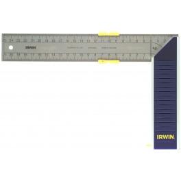 Úhleník s měřítkem, 250 mm, s metrickou stupnicí, Irwin, 10503543