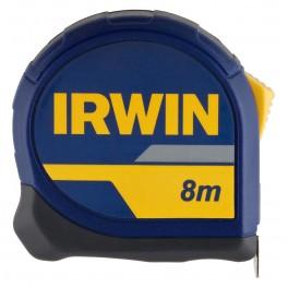 Svinovací metr, Standart, 8 m x 25 mm, Irwin, 10508054