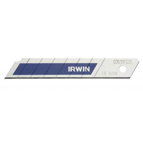 Bimetalové, odlamovací čepele 18 mm, 8 ks, Irwin, 10507103
