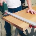 Řezací lišta se svěrkou, 100 cm, Clamp N Cut, CLAMP100