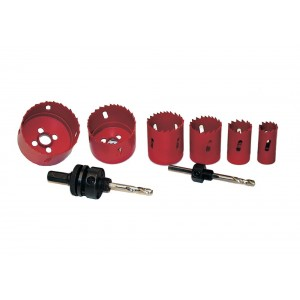 Sada bimetalových korunek 22 -73 + 2 adaptéry, BM44100