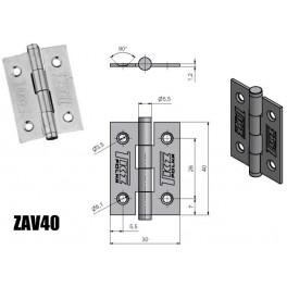 Závěs dveřní, KZ 40, zinkovaný, TKZ Polná, 8240053A, ZAV40