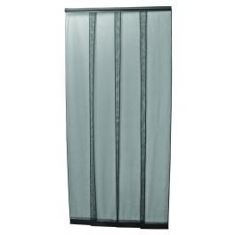 Dveřní závěs proti hmyzu, bílý, 4 x 35 x 220 cm, 40075
