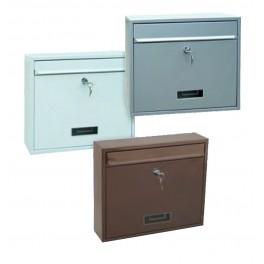 Ocelová poštovní schránka, BK31, stříbrná, Richter, BK31S