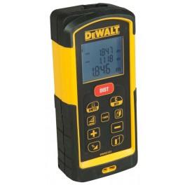 Laserový měřič vzdálenosti, dosah až 100 m, přesnost ± 1 mm, Dewalt, DW03101