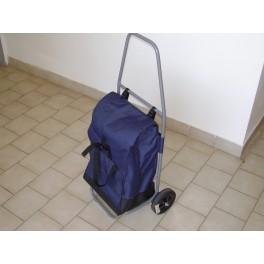 Pojízdná poštovní kabela - typ A, 380 x 220 x 550 mm, nosnost 50 kg, zinkovaná, POJKABA-ZN